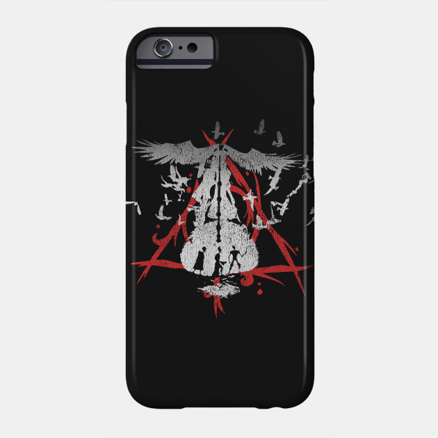 Tale Of The Three Brothers Deathly Hallows Phone Case Teepublic