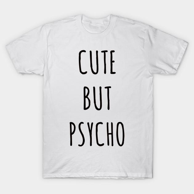0d59aceb3 Cute But Psycho - Sticker Funny Family Boy Girl Toddler Boyfriend ...
