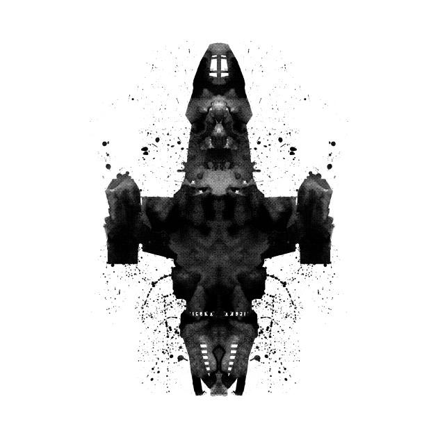 Shiny Rorschach Ship