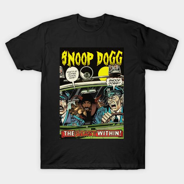 69f5e3b5e Dangerous Dogg - Snoop Dogg - T-Shirt   TeePublic