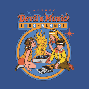 Devil's Music Sing-Along t-shirts