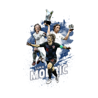 reputable site 3681e 6edf6 Luka Modric T-Shirts | TeePublic