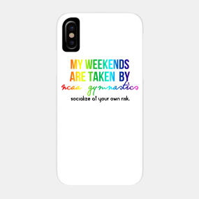 online store cff88 0edb6 Ncaa Gymnastics Phone Cases - iPhone and Android | TeePublic