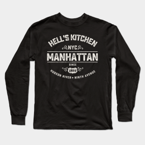 a420fed2427 NYC Hell's Kitchen Long Sleeve T-Shirt
