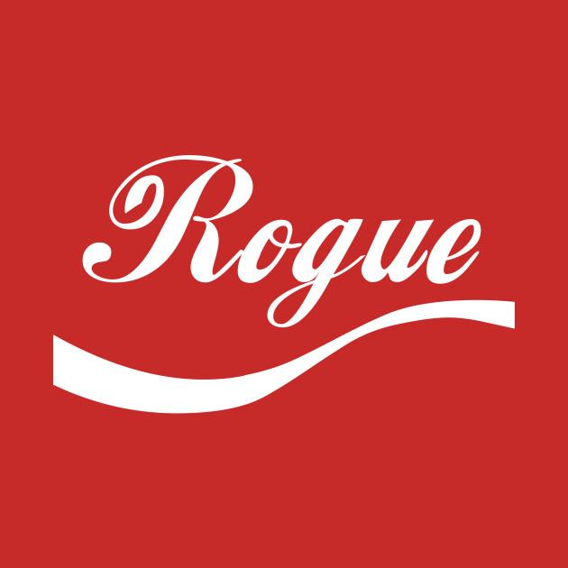 Star Wars Rogue One Rogue Cola Logo