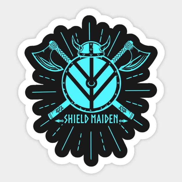 Lagartha Viking Shield Maiden Woman Warrior Shield Maiden