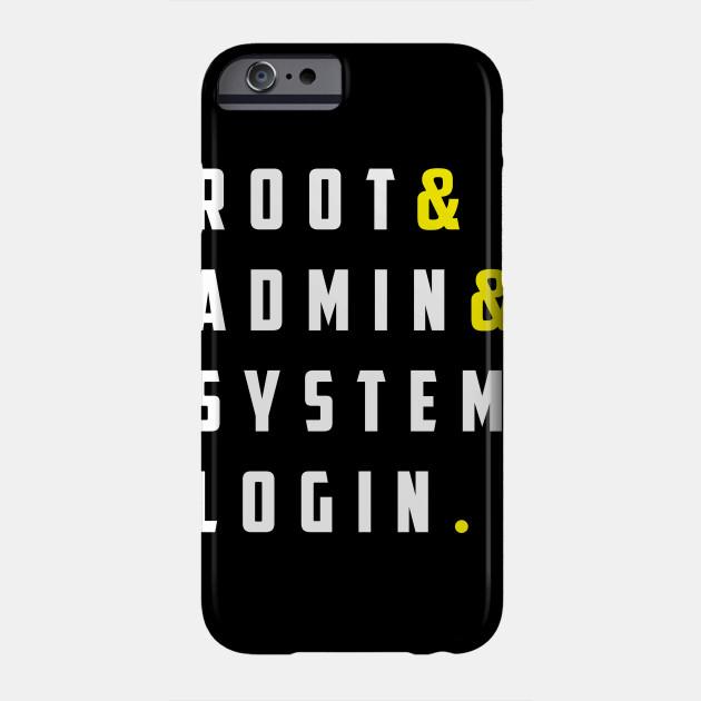 Root Admin System Login