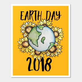 Earth Day 2018 Posters And Art