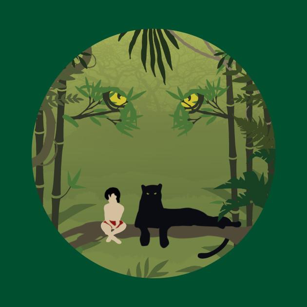 042907b11 Jungle Book Kids T-Shirt. New!Back Print. Jungle Book Jungle Book
