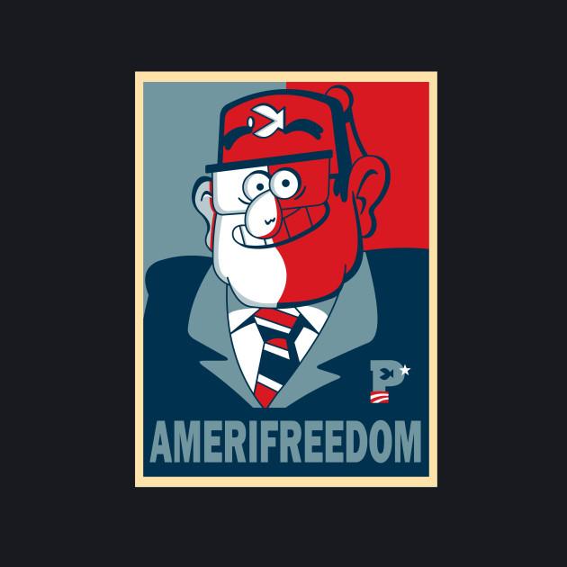 GRUNKLE STAN FOR AMERIFREEDOM!