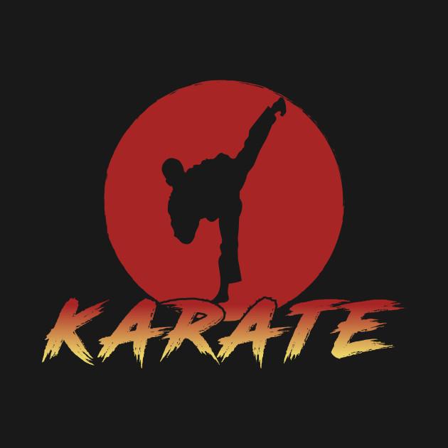Karate Fighting Black Belt Sports Gift Japan