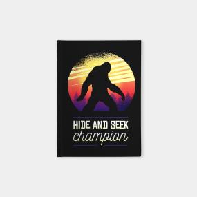 ea42329b Hide And Seek Champion Notebooks | TeePublic