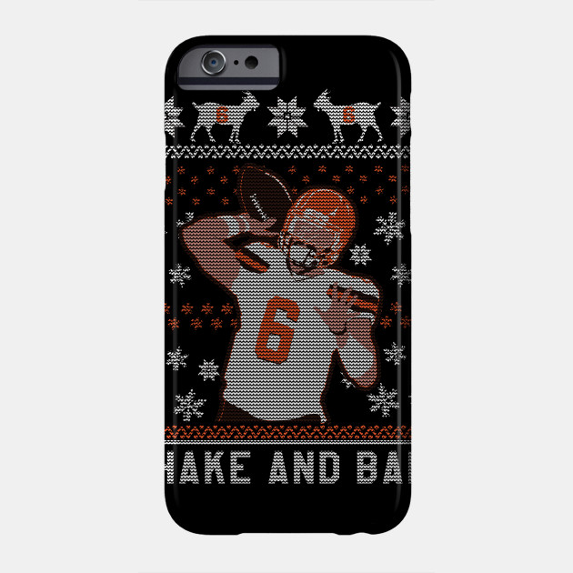 Shake And Bake 6oat Christmas Baker Mayfield Phone Case Teepublic
