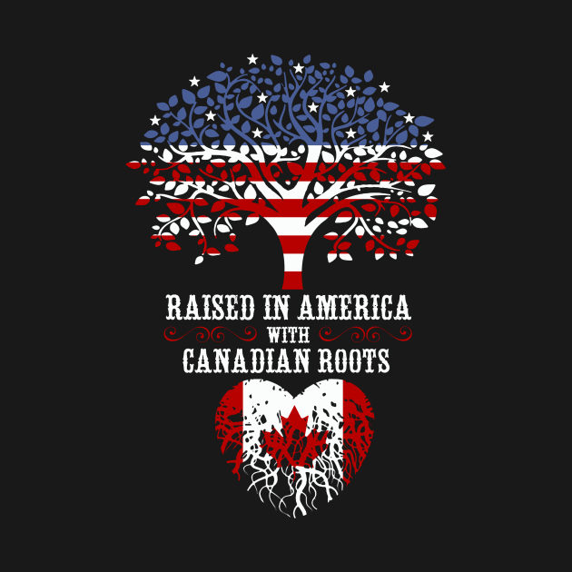 Raised in America with Canadian Roots.