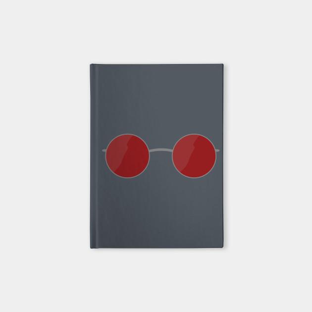 9d40b0d78e59 Matt Murdock Glasses - Daredevil - Notebook