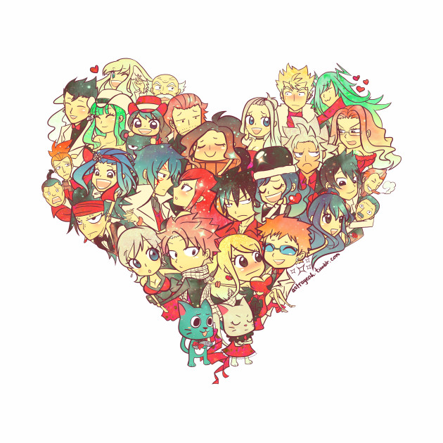 Fairy Tail - Fairies in Love Ver. 1