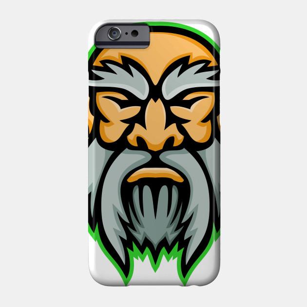 Cronus Greek God Mascot Cronus Greek God Mascot Phone Case