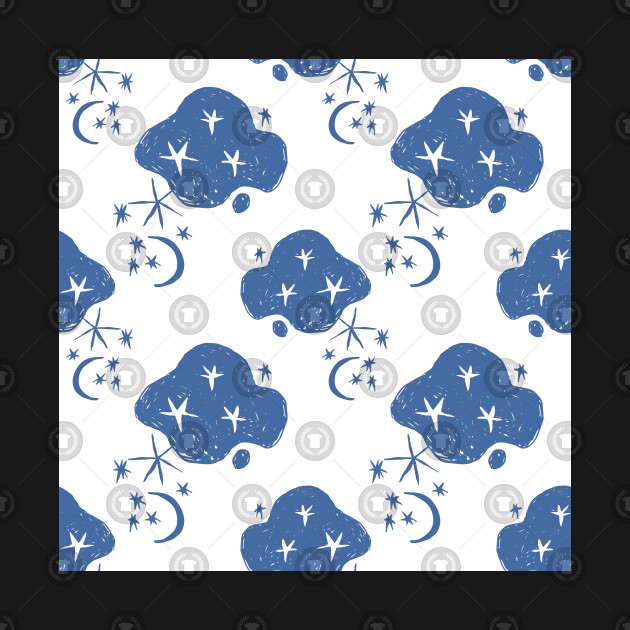 Naive Seamless Pattern Clouds