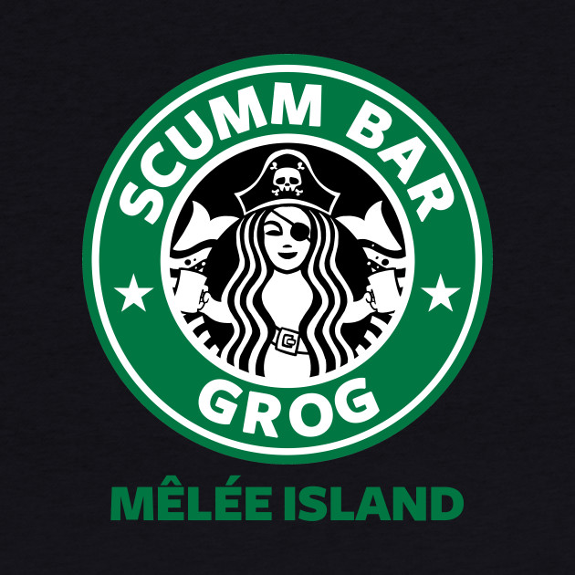 Scumm Bar green text