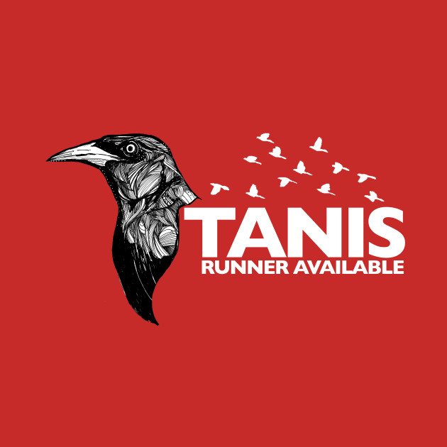 Tanis Grackle (white letters) by Gareth A. Hopkins (grthink)