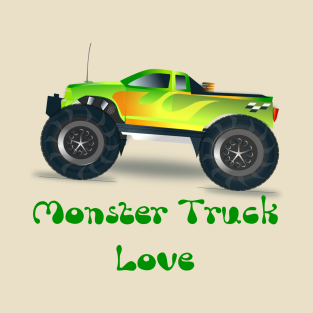 462fdeb110b95 Main Tag Monster Trucks T-Shirt