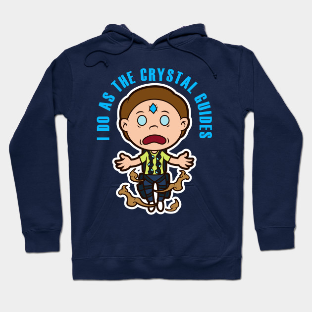 DEATH CRYSTAL MORTY Hoodie