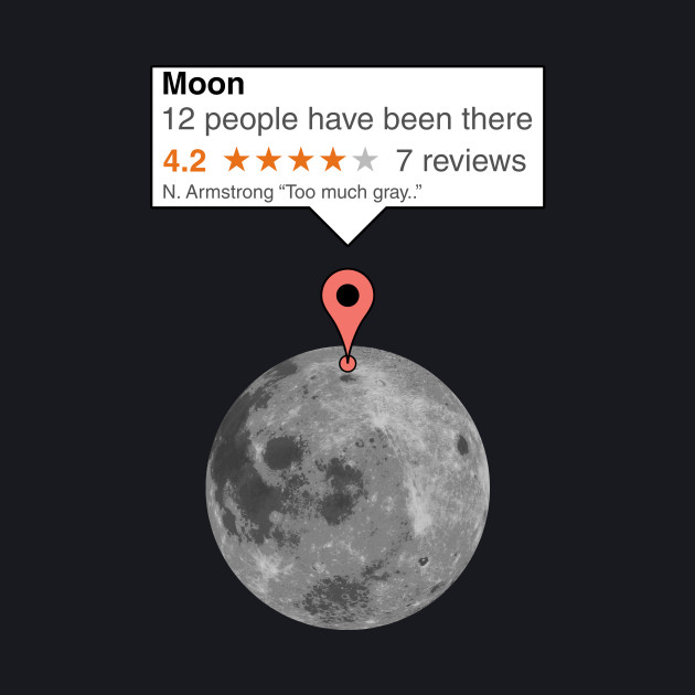 If moon was just any place