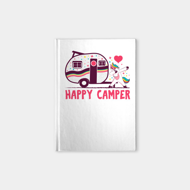 Happy camper camping T-shirt