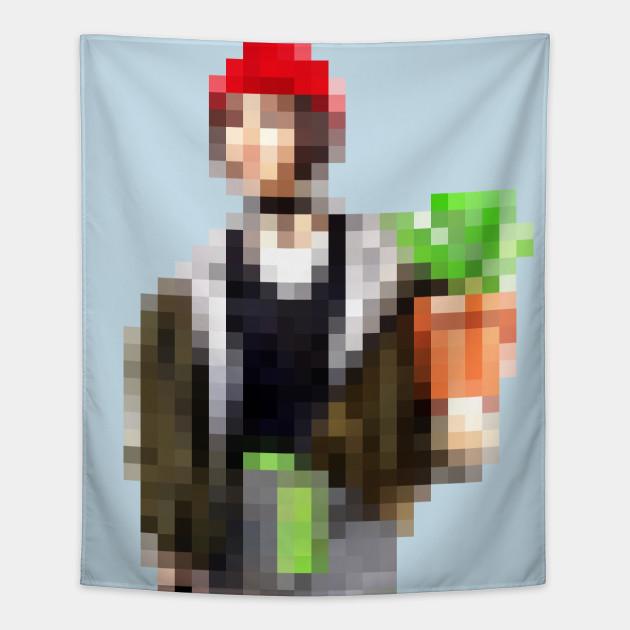 Mathilda Retro Pixel Art Design