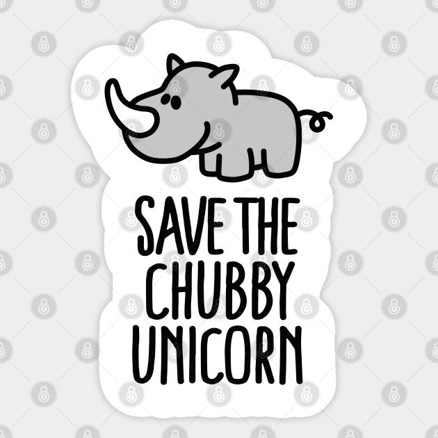 181431512 CafePress Save The Chubby Unicorns Sticker Oval