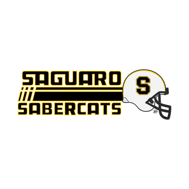Saguaro Sabercats (Rush Secondary - Gold Lined)