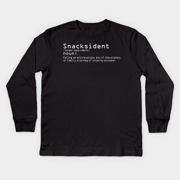 Snacksident Womens T-Shirt