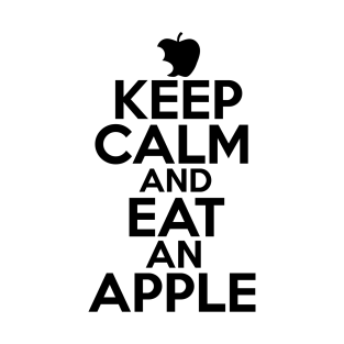 Keep Calm And Eat An Apple t-shirts