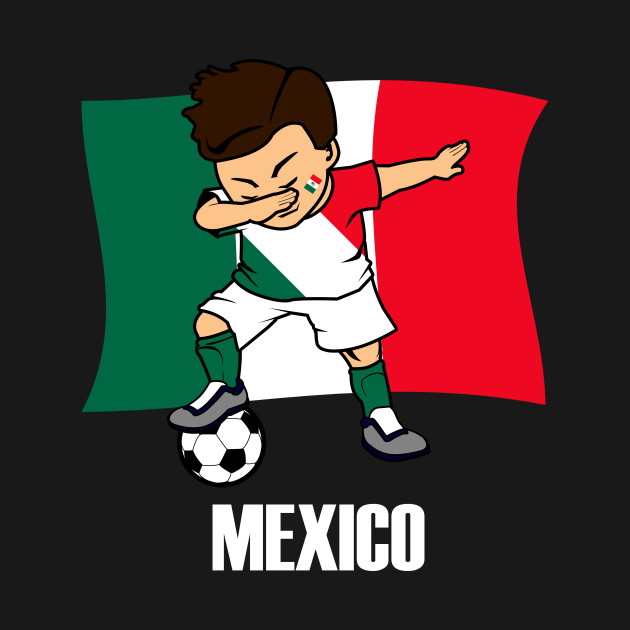 95bf0d8b1 ... Long Sleeve T-Shirt. New!Back Print. Dabbing Soccer Boy Mexican Soccer  Jersey Mexico Flag Dabbing Soccer Boy Mexican Soccer Jersey Mexico Flag