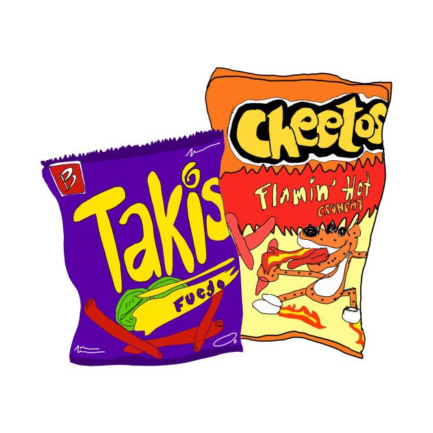 Hot Chips - Bae - T-Shirt : TeePublic