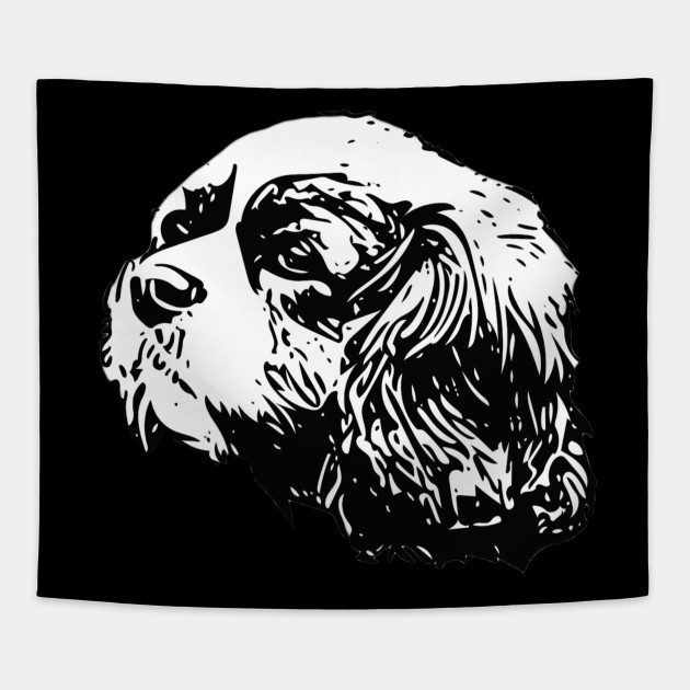 Cavalier King Charles Spaniel - Cavalier King Charles Christmas Gifts Tapestry