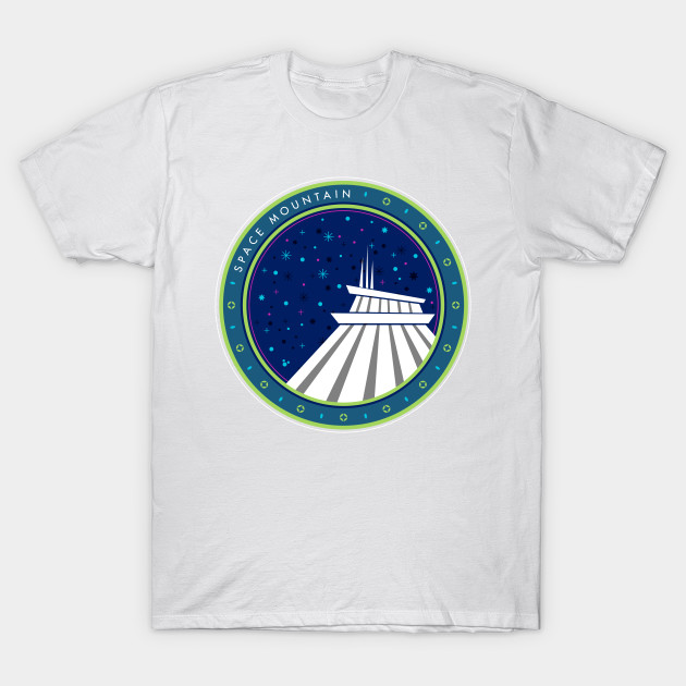 Space Mountain T-Shirt-TOZ
