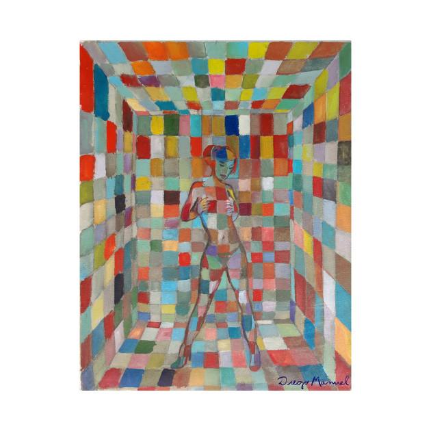 Cubist girl