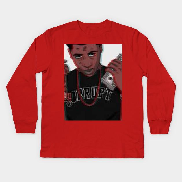 2599455850db NBA Youngboy - Nba - Kids Long Sleeve T-Shirt