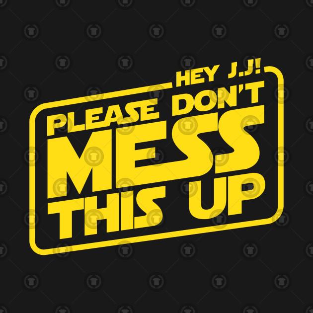 A plea to JJ