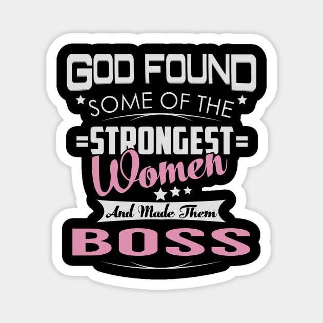 Boss Strongest Women