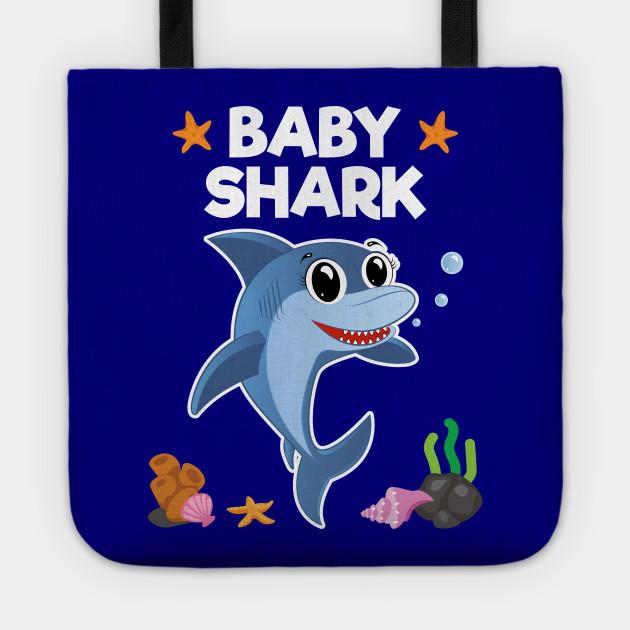 fcc499c64354a4 Baby Shark Birthday Gift for Kids Boys Girls - Baby Shark - Tote ...