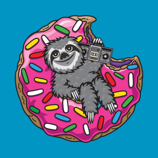 Sloth Donut t-shirts