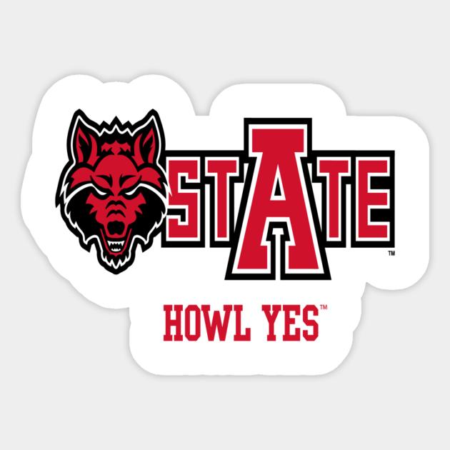 Arkansas State Red Wolves Ncaa Hoodie Ppaks28 Arkansas Sticker Teepublic