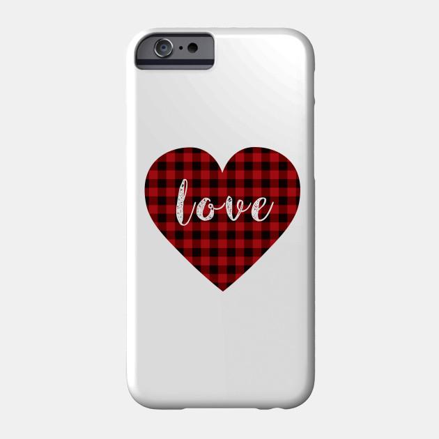 5d90925ef670f9 Buffalo plaid heart love Shirt - Valentine s Day Gifts - Buffalo ...
