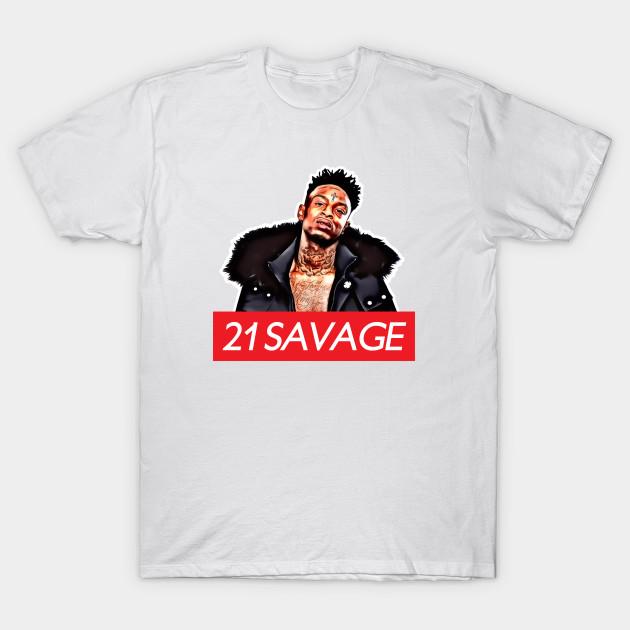 658c1caa 21 Savage - 21 Savage - T-Shirt | TeePublic