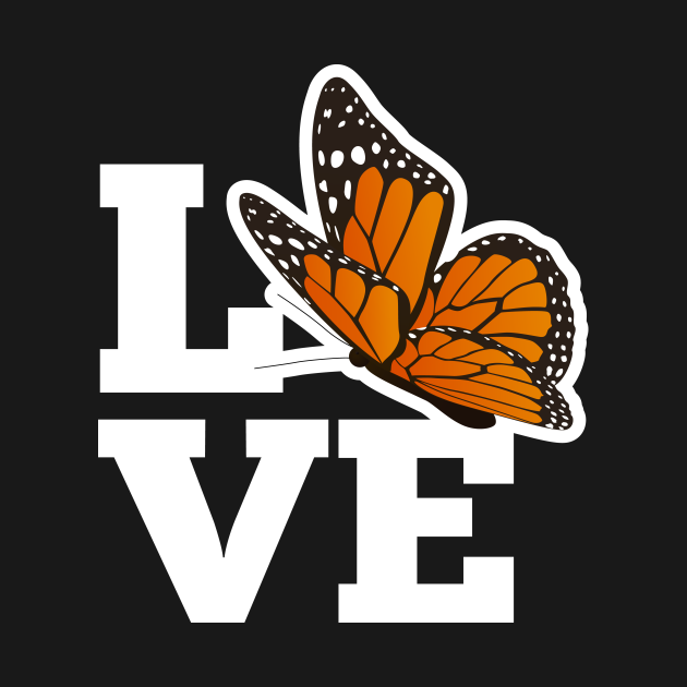 Love Monarch Butterfly - Watching Monarchs Gift