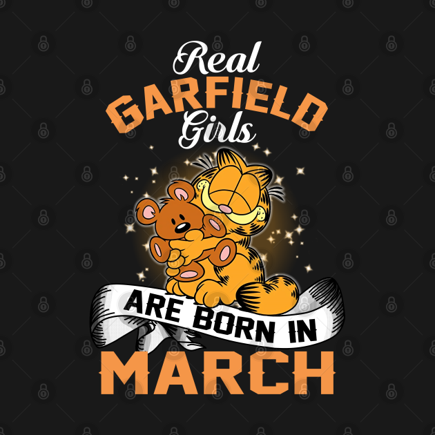 real garfield girls are born in march