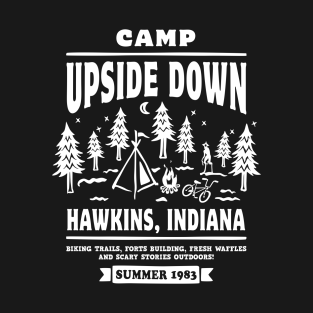 Camp Upside Down t-shirts