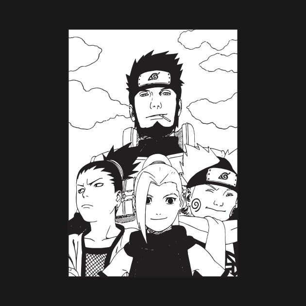 Team Asuma - Naruto Anime